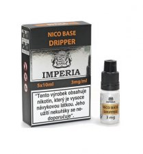 Nico báze Dripper IMPERIA 5x10ml 3mg