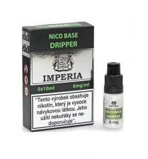 Nico báze Dripper IMPERIA 5x10ml 6mg