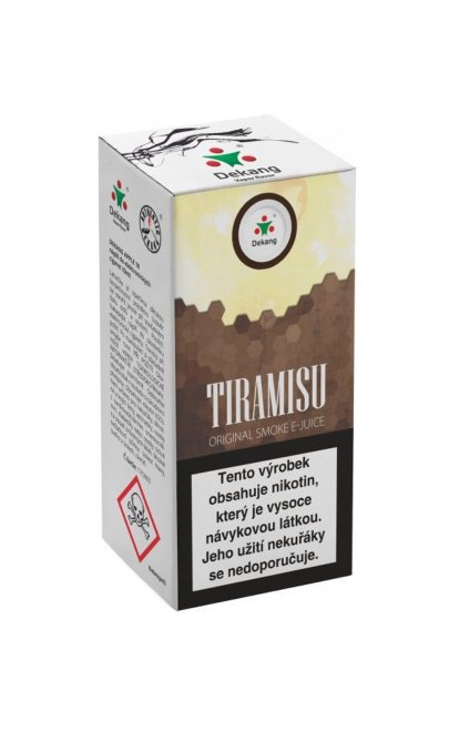 E-Liquid DEKANG 10ml Tiramisu