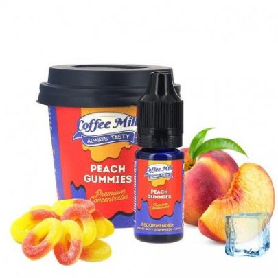 Příchuť Coffee Mill Peach Gummies 10ml